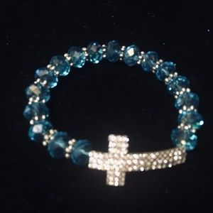New Blue Crystals Fashion Women Bracelet